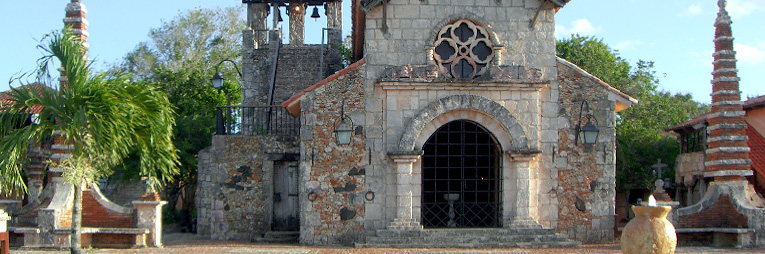 Altos del Chavon – The Church of St. Stanislaus